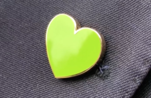 Grenfell Heart Badge